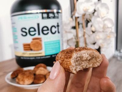 Recept: Snickerdoodle zdravé proteinové sušenky