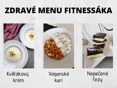 Zdravé fitness menu. Uvař si z pár ingrediencí skvělý oběd.