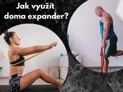 5 tipů jak doma využít expandér ke cvičení. Chceš zpevnit tělo nebo jen protáhnout záda? Tak do toho.