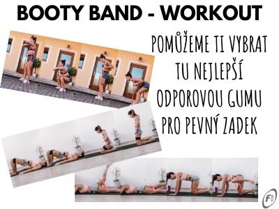 Booty Band Workout Posilovací guma na zadek a nohy