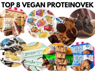 Nejlepší vegan proteinová tyčinka. 8 nejkvalitnějších kousků.