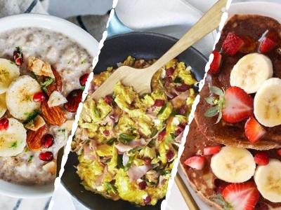 3 tipy na zdravou rychlou snídani. Do 10 minut máš hotovo.