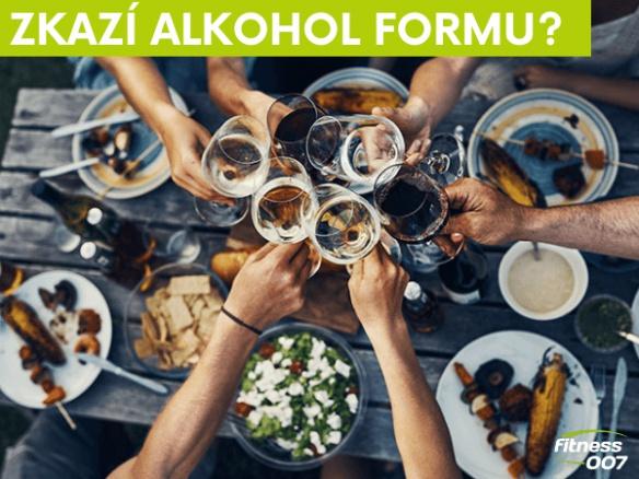 Jaký vliv má alkohol na svaly a hubnutí? Naruší to mojí formu?
