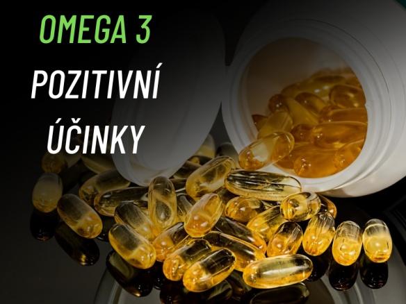 OMEGA 3: Benefity, pozitivní účinky a správné dávkování.
