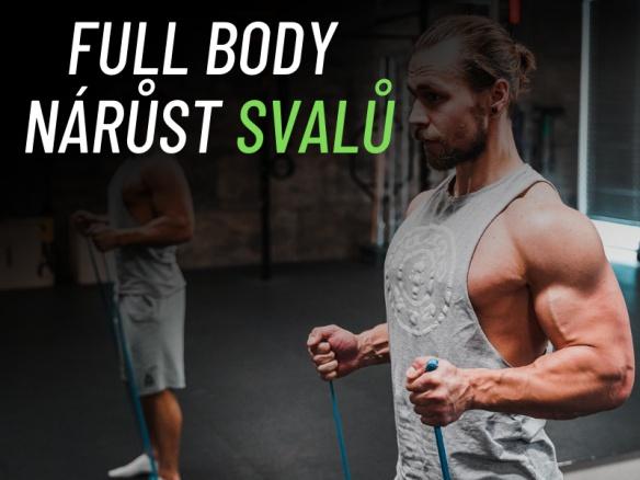 Domácí cvičení celého těla pro nárůst svalové hmoty - 20 minut.