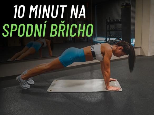 Cvičení na spodní břicho. Celý video workout. Vhodné i pro začátečníky.