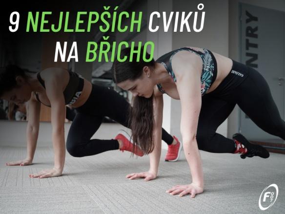 9 nejlepších cviků na břicho a střed těla. Jak správně posilovat bez bolesti zad?