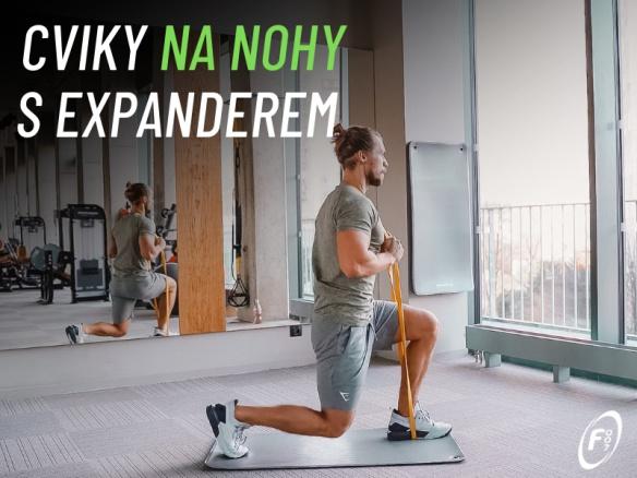 Nejlepší cviky na nohy a stehna s vlastní váhou a expanderem. Domácí cvičení.