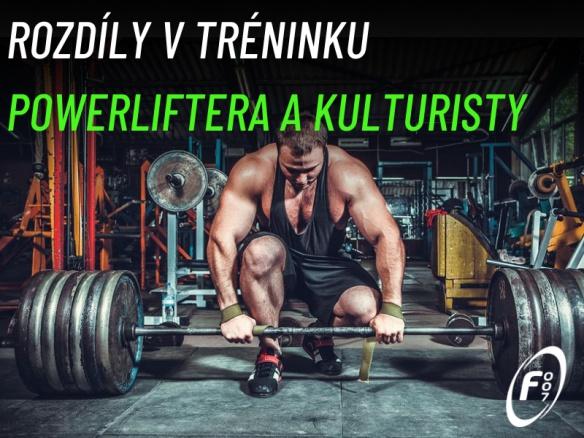 Jaké jsou základní rozdíly v tréninku powerliftera a kulturisty? Síla, nebo objem?