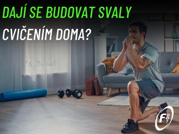Lze vybudovat svalovou hmotu při cvičení doma? Jak často cvičit a jaké vybavení pořídit?