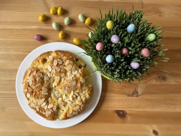 Velikonoční recept na máslový mazanec. Tohle zvládne každý.