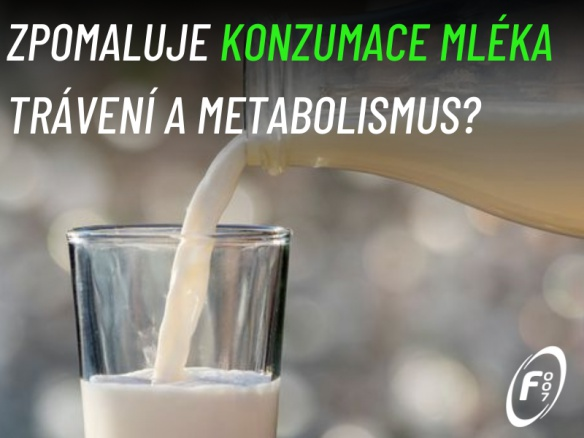 MLÉKO! Zpomaluje konzumace mléka trávení a metabolismus?