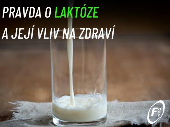 Proč se (ne)bát laktózy ve výživě