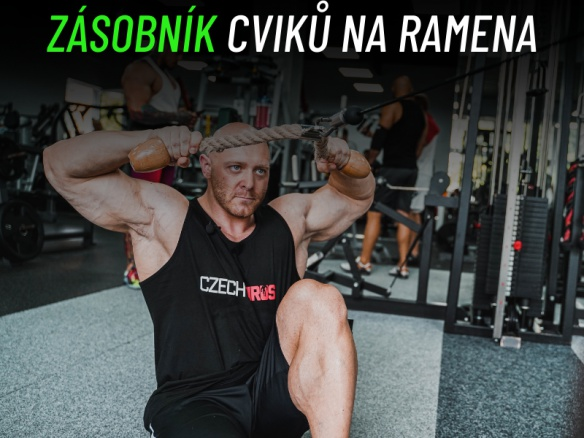 Nejlepší cviky na ramena. Trenér Jirka Vacek a jeho zásobník cviků.