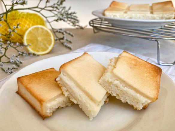 Fit citronový koláč bez cukru