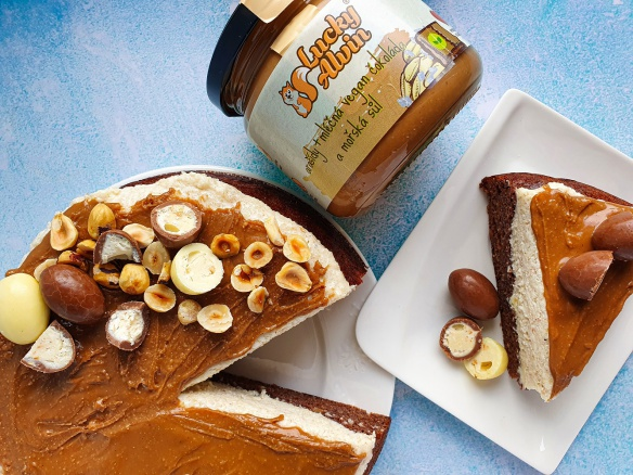Fitness Kinder Schoko Bons cheesecake