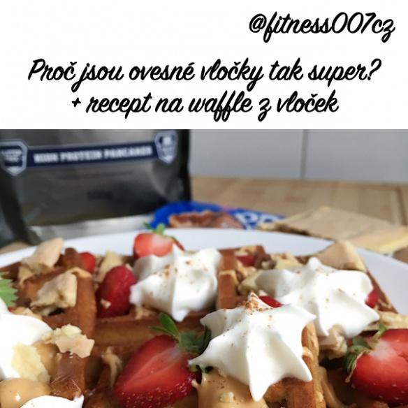 Ovesné vločky jako super snídaně plná energie