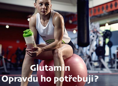 Glutamin: Co je to Glutamin? Má suplementace glutaminem význam?
