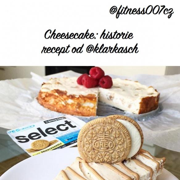 Cheesecake: Historie a recept na nejlepší proteinový dort z proteinu Snickerdoodle